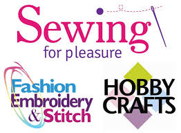 Sewing for Pleasure, Fashion Embroidery & Stitch and Hobbycrafts