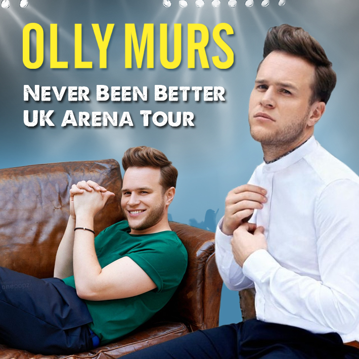 Olly Murs - Never Been Better Tour - Spalding Departure