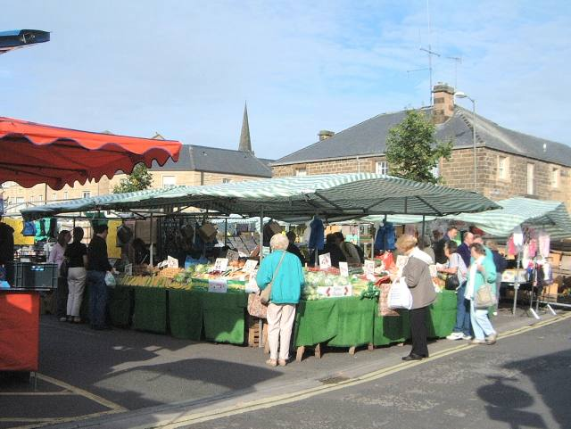 Bakewell Market and Denby Pottery