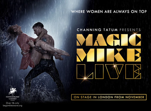 Magic Mike Live - Tabled seats