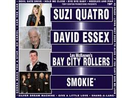 Legends Live Tour 2019 - Suzi Quatro/Smokie/David Essex/ Les McKeown's Bay City Rollers