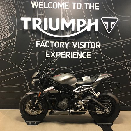Triumph Factory Tour & Visitor Experience