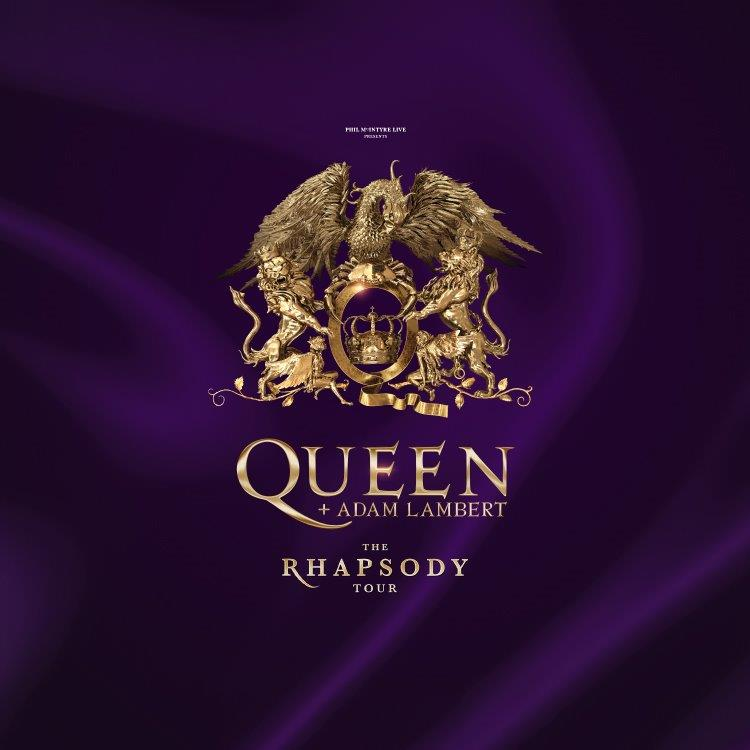 Queen and Adam Lambert Rhapsody Tour